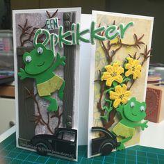 Opkikker kaart voor man en vrouw samen / Feel better soon card for a man and woman