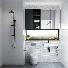 What a way to incorporate a great view in the bathroom design! Repost from @bathroomcollective #thegoodsheet #taps #interiordesign #bathroom #australia