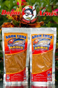 Abon Tuna Arnis doesn't contain MSG or other chemical preservatives. Available in 2 flavors : Original and Spicy. #AbonTunaArnis. Kuliner - Manado - Indonesia.