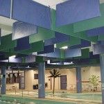 Acoustic sound baffles for home