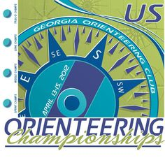 98ca45d8 Orienteering Championships - An example of a custom t-shirt design by Jen-Tek  Graphics.