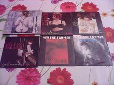 Lot de 6 singles - POINT DE SUTURE - FARMER MYLENE (CD)
