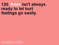 Aries fact from ZodiacChic.