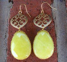 Page 6 Boutique | Filigree teardrop earrings $25