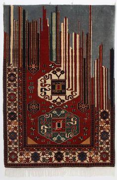 Um novo olhar sobre a tapeçaria persa Natural do Azerbaijão, o artista Faig Ahmed possui um trabalho capaz de unir técnicas milenares de tapeçaria persa a um novo olhar multidimensional