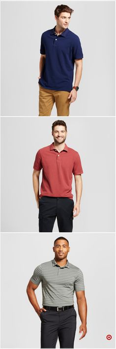 Shop Target for polo shirts you will love at great low prices. Free shipping on orders of $35+ or free same-day pick-up in store. Classy Casual, Men Casual, Ugly Kids, Boy Outfits, Fashion Outfits, Business Casual Men, Dress For Success, Golf Outfit, Golf Shirts