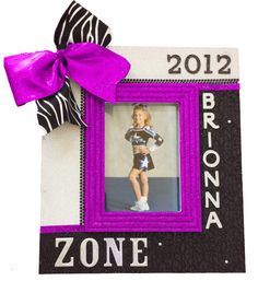 Personalized Cheer Team Frame by CheerFrames Homemade Picture Frames, Cheer Coaches, Cheer Gifts, Cheer Stuff, Cheerleading, Gymnastics, Presents, Softball, Claire