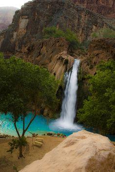 If you haven't been you need to...Havasupai Falls, AZ