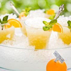 Awesomely refreshing Orange Mint Juleps. #cocktail #drink #food #mint #juleps #orange #bourbon #Kentucky #Derby #Southern