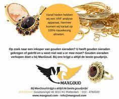Heeft u nog (oud) goud, waar u niets mee doet? Gouden sieraden die u heeft geërfd en die al jaren in de kast liggen?⚜️ Dan is het nu de tijd om het te verkopen.   ▪️▪️▪️ Gouden sieraden verkopen doet u bij MaxGoud: altijd de beste goudprijs! #maxgoud #goud #goudsesingel #rotterdam #nederland #besteinkoper #bestegoudprijs #goudenringen #armbanden #kettingen #oorbellen #munten #oudgoud #hetmoment #gold #geld #xrfapparaat #sieraden