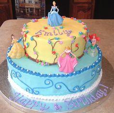 Princess cake for the love of Cake Pinterest Cake Disney
