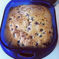 Blueberry Breakfast Cake. It's like a giant muffin...but cake. YUM!