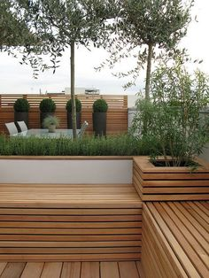 backyard ideas, awesome ideas to create your unique backyard landscaping diy inexpensive on a budget patio - Small backyard ideas for small yards Gartengestaltung Contemporary Garden Design, Small Garden Design, Patio Design, Landscape Design, Terrace Garden Design, Rooftop Design, Backyard Ideas For Small Yards, Small Backyard Landscaping, Backyard Patio
