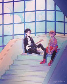 ✰ᵤₑₙₒyₐₘₐ ₖᵤₙ) with reads. Arte Emo, Anime Triste, Otaku, Kagehina, Haikyuu Anime, Shounen Ai, Fujoshi, Anime Screenshots, Boku No Hero Academia