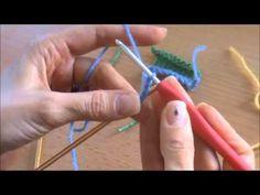 {Vidéo} Le montage provisoire au crochet | Knit Spirit
