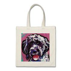 pwd Portuguese water dog pop dog art