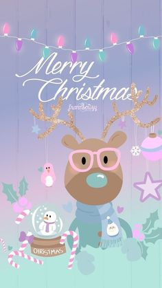 Merry Christmas - phone wallpaper w/pink Christmas Post, Merry Christmas And Happy New Year, Christmas Quotes, Christmas Pictures, Winter Christmas, Christmas Crafts, Christmas Ideas, Christmas Inspiration, Christmas Articles