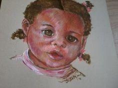 De Isabelle Nogueira - Pequena Clara - acrílica s/ papel - 2014