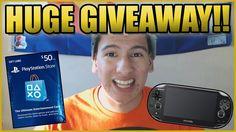HUGE PlayStation GIVEAWAY - Over 60 Prizes!
