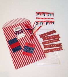 A personal favorite from my Etsy shop https://www.etsy.com/listing/231960271/memorial-day-planner-grab-bag-stationery