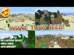 Minecraft Console - INSANE TU47 Seed! (Minecraft PS4, Xbox One, PS3, Xbox 360) - YouTube