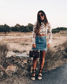 Fabulous Spring And Summer Outfit Ideas For 2018 23