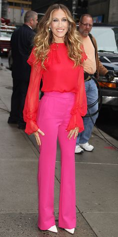 Sarah Jessica Parker's 25 Most Memorable Looks Ever - Prabal Gurung, 2011 from #InStyle