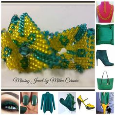 Emerald green mellow fashion trend