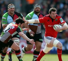 Heineken Cup: Munster fight back to beat Quins Rugby League, Rugby Players, Munster Rugby, Irish Rugby, Super Rugby, Rugby Men, Six Nations, Rugby World Cup, Espn