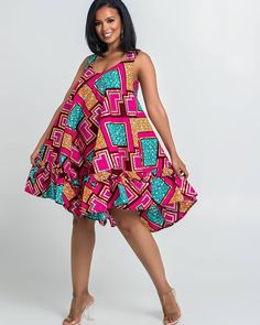Here at Grass-fields we have an awesome range of African dress designs. Whether you're after an African print maxi or midi dress, we've got something for you. African Fashion Ankara, Latest African Fashion Dresses, African Print Fashion, Nigerian Fashion, Africa Fashion, African Style, Trendy Ankara Styles, Ankara Dress Styles, Short African Dresses