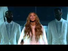 #Beyonce's breathtaking performance at the #GrammyAwards2015 http://youtu.be/7OG0yiLkrb0