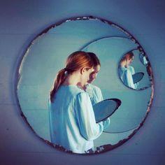 mpdrolet:  Blue Mirror, 2014 Danielle Nelson Mourning