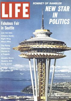 Life magazine 1962, introducing the Seattle World's Fair