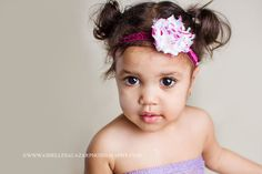 Baby Headband - Sparkle Glitter Shabby Flower Headband by Hair Accessories By Megan, $5.50
