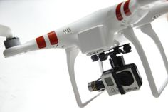DJI Phantom with Gopro 3 black
