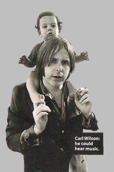 Carl Wilson and his son Jonah.