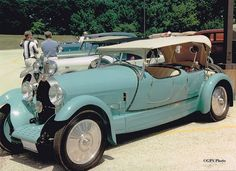 1927 Bugatti T.44 Sport Touring-DG