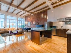 Ville Marie Canada - Find your dream luxury home in Ville Marie, Canada! JamesEdition features the best luxury properties and homes worldwide. Condos For Sale, Apartments For Sale, Quebec, Old Montreal, Open Concept Kitchen, Pent House, Rue, Luxury Homes, Beautiful Homes