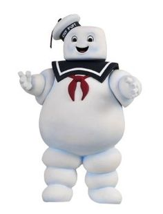 Amazon.com : Ghostbusters: Stay Puft Marshmallow Man Bank : Toy Figures : Toys & Games