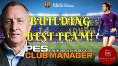 Building Your Best Team in Pro Evolution Soccer Club Manager! Who Plays It, Pro Evolution Soccer, Gaming, Management, Club, Building, Videogames, Buildings, Game