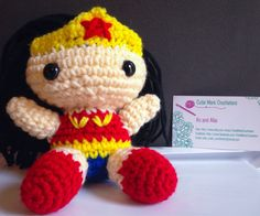 Wonder Woman - DC Comics Crocheted Doll Thank you and please allow 2 to 3 weeks for your item to be delivered. This time frame is depended