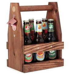 This beer tote ($42) makes a six-pack of anything look classy. And it even has a bottle opener on th... - Provided by PopSugar