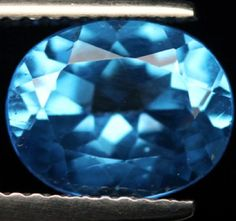 3.14 ct. Natural Swiss blue Topaz loose gemstone