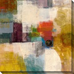 Have a picturesque illustration in any part of the room with this attractive oversized canvas art by Bailey, which comes with a certificate of authenticity. This indoor or outdoor art features a contemporary style and an abstract subject.