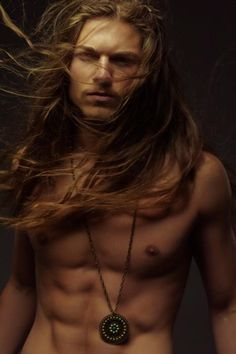 Sexy long haired guys