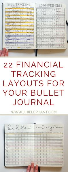 Keeping track of your bills, payments, and money can be so incredibly difficult, particularly if you have more than one account. Thanks to my bullet journal I have been able to keep up with my bills, payments, subscriptions, loans, and more! Scroll down to find over 20 bullet journal layouts to help you with your finances!