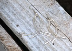 Sterling Silver Fish Earrings by JayAmyCreations on Etsy, $23.00