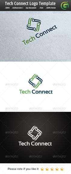 Logo for sale just 29$ Tech Connect
