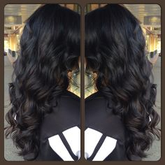Black and brown sombre. Facebook: Hair by Shelby - Tryst Instagram: hair.by.shelby