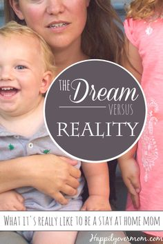 What it's *really* like to be a stay at home mom. A funny take on the daily life of a SAHM and why the reality of staying home with kids is still AWESOME.